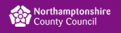 Northamptonshire county council banner